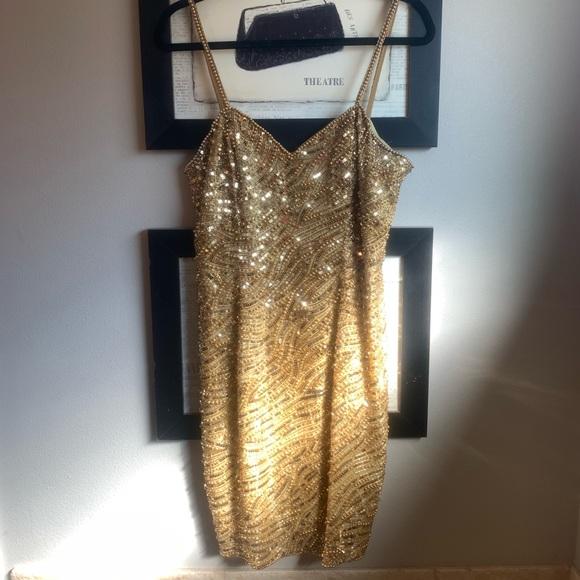 Vintage 1980/'s Sequin Dress
